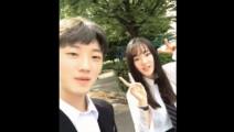 日本留学生搭讪高中部的校花,这样子在日本已经是校花级的美女了!