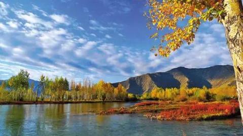 秋天的西藏, 等我们赴一场难以抗拒的秋色诱惑 - 微信