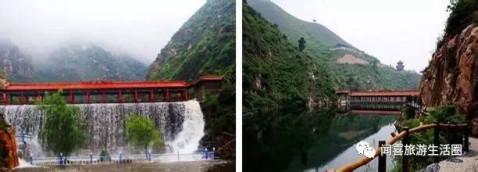 雪花山风景区位于山西省永济市东2 公里处,三晋最大的内陆湿地伍姓湖
