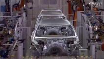 德国生产工艺就是牛,看宝马汽车从一块铁皮到一火车宝马被拉走