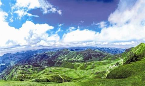 赫章县韭菜坪风景区迎旅游旺季