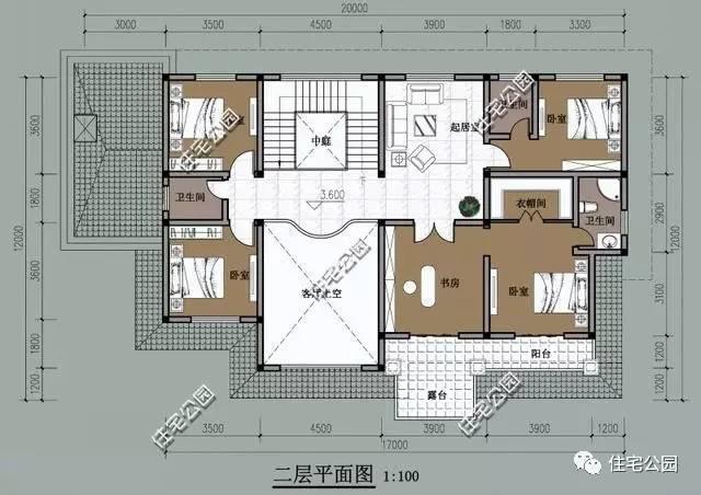 河南农村三间房设计图展示