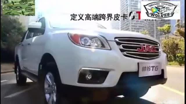 一键启动长轴四驱 这款皮卡比SUV霸气