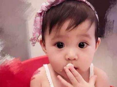 明星宝宝长相大公开, 贾静雯女儿太可爱