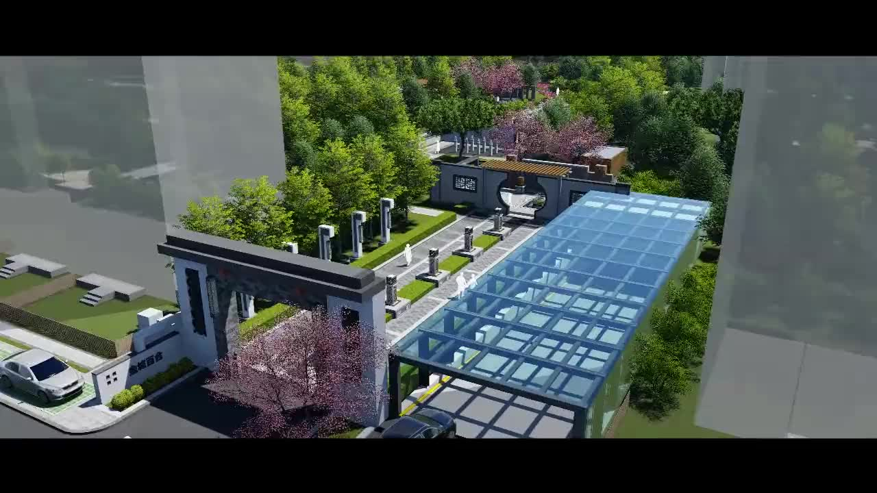 景观雕塑景观设计园林设计湖北省环艺景观雕塑创意视频