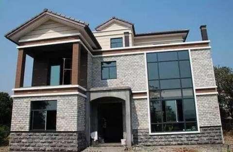 农村土豪150万自建别墅, 客厅装修花12万, 果然土豪在