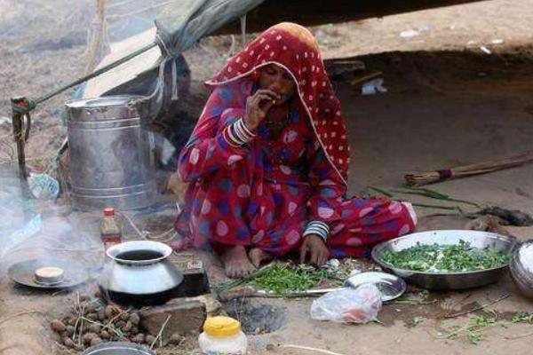 导游说出真实原因 印度人为何喜欢野地做饭