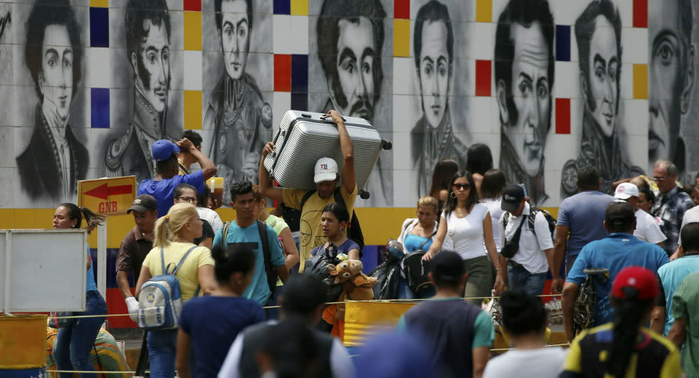 委内瑞拉总统下令军队进入战备状态, 因美哥两国准备挑起边境冲突