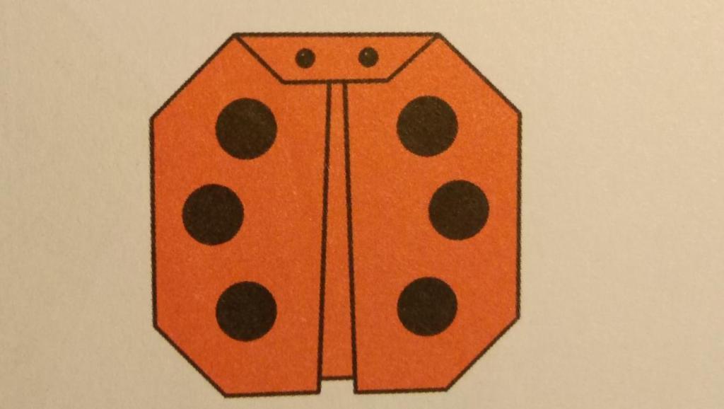 折纸大全42 七星瓢虫