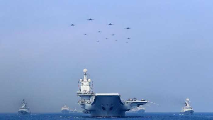 印大张旗鼓出动50艘舰艇? 我军就是途经印度洋, 至于么?