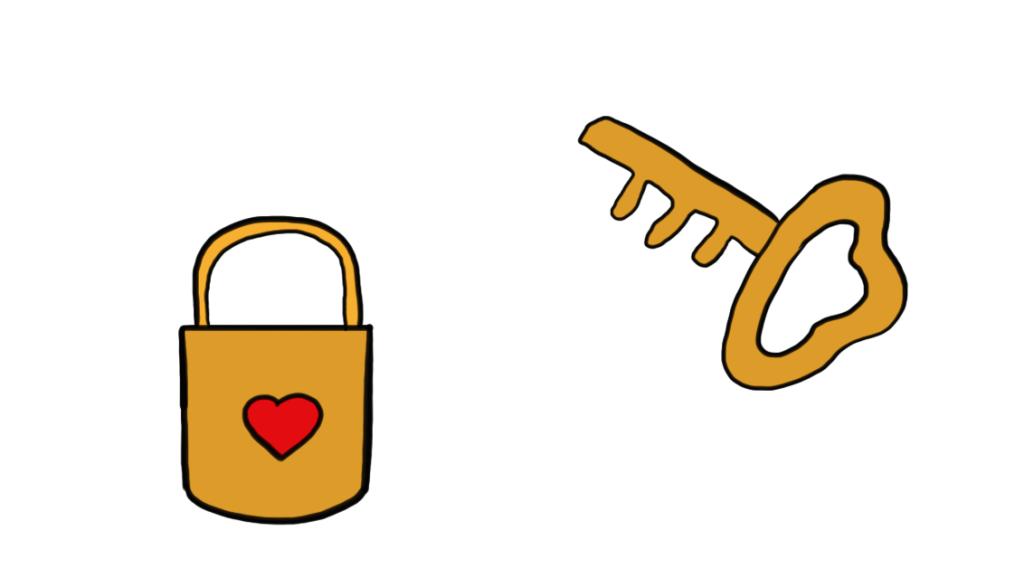 钥匙图片简笔画