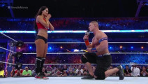 虐狗的时代,WWE赛场上当场求婚,见证了整个赛季的最佳情侣!