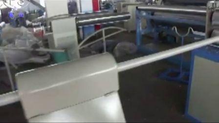 pe foam pipe machine with winder带收卷的发泡管设备,聚乙烯挤出机,空调保温管设备
