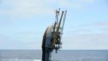 这船倾斜到90°时,大家都以为要沉了,船员却说不要担心