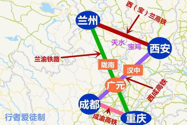 9月27日,我国首条穿越秦岭高铁试运行,西安到成都只需3小时.