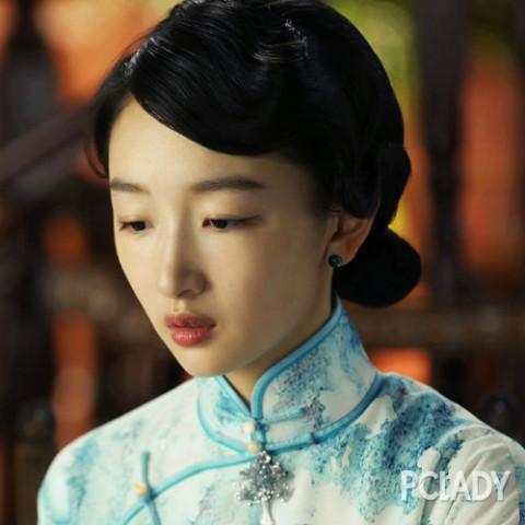 刘诗诗民国发型风情万种图片