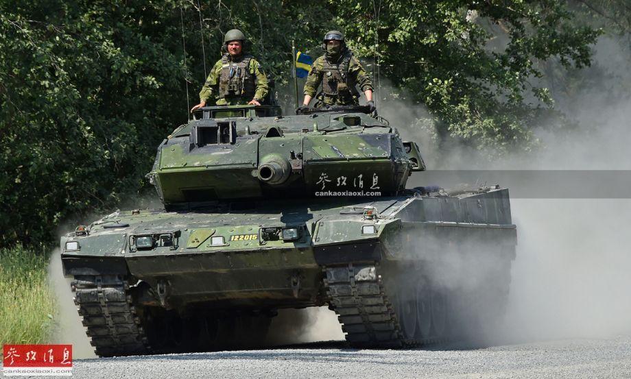 1分钟内灭六目标! 瑞典豹2坦克实弹打靶(图5)