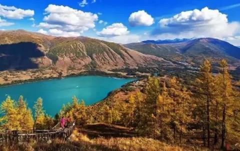 天山天池风景名胜区 美 在 新 疆 听说新疆有西域独特的自然景观,辽阔