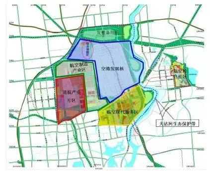方案划定临空经济示范区核心区位于胶州市