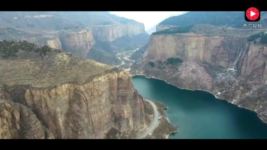 素描教程下载风景素描教程视频 打开 河南与山西交界太行山风景大峡谷