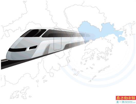"""规划5大铁路走廊8条城际轨道 拟实现与大湾区核心城市""""半小时达"""""""