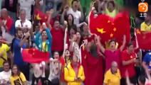 奥运会女排绝杀一刻! 惠若琪终极一扣, 现场观众泪流满面!