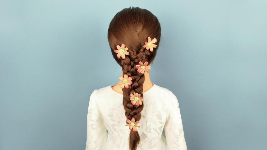 打开 打开 自带仙气的儿童编发 简单小女孩公主发型的扎法 打开 国外