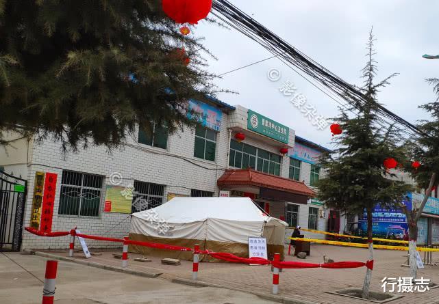 全民都参与抗击新冠肺炎,陕西农村进行封闭式管理,农村村民也加强了防护意识