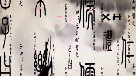 中国风水墨散开效果动态视频素材高清视频素材下载