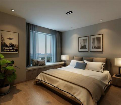 宝鸡家装公司: 房子简单装修设计图 120平米含蓄淡雅的两室空间