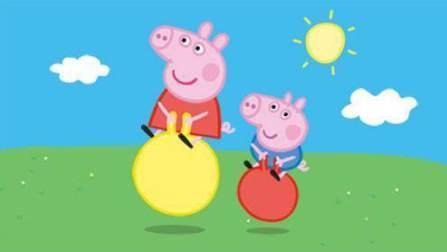 粉红小猪 粉红猪小妹 乔治佩奇猪的游泳比赛 粉红猪小妹 佩奇猪猪的