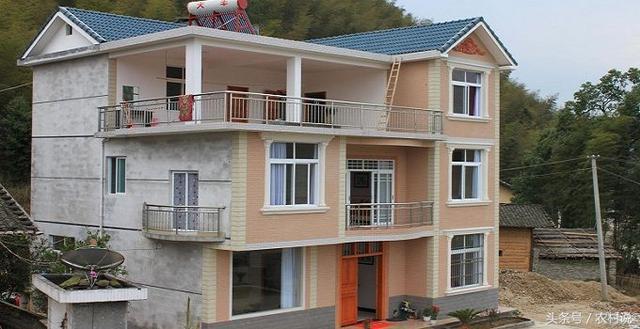 大山农村房屋设计图15万