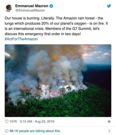 澳洲大火是亚马孙大火12倍,为何巴西被指责,对澳洲却集体沉默