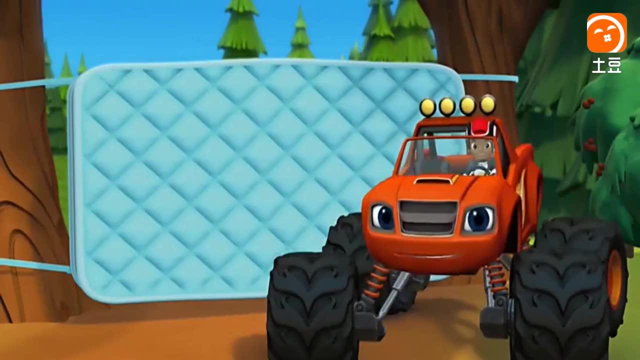 旋风战车队: 飚速变身成弹跳棒卡车, 它多跳10次才救了克莱瑟!