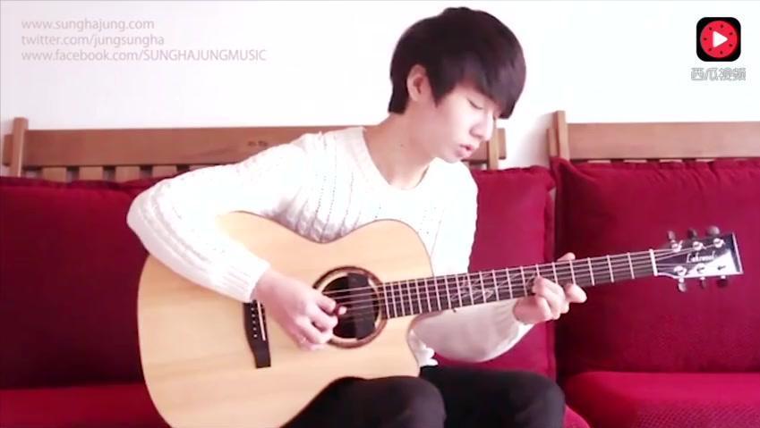 吉他指弹 冰雪奇缘主题曲 let it go 用吉他演奏是不一样的感觉