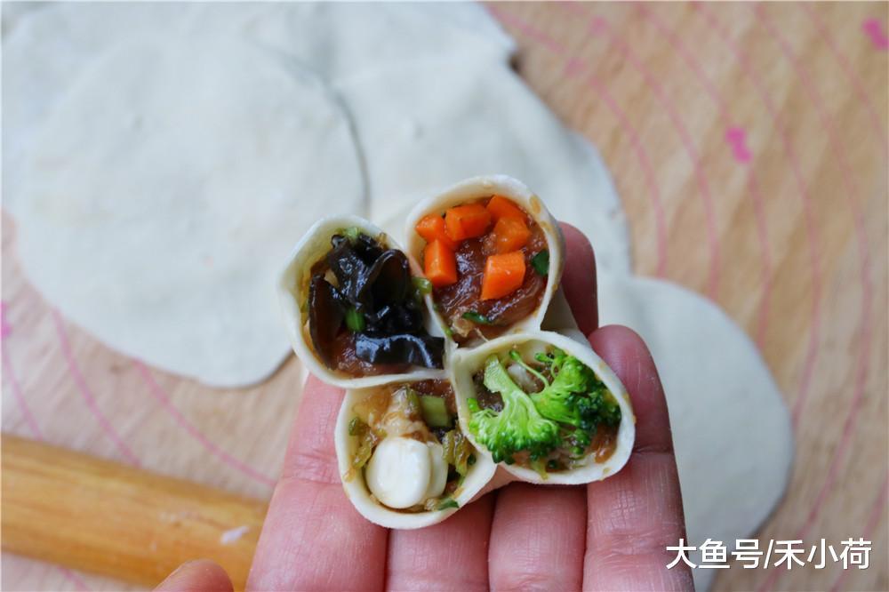 这饺子不简单, 咬一口四种味, 寓意美好团团圆圆, 真好吃