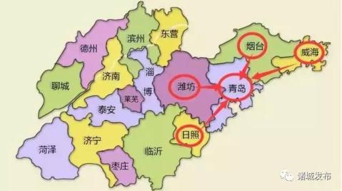 潍坊加速与青岛接轨! 一条城轨从潍坊北站经平度直达青岛五四广场