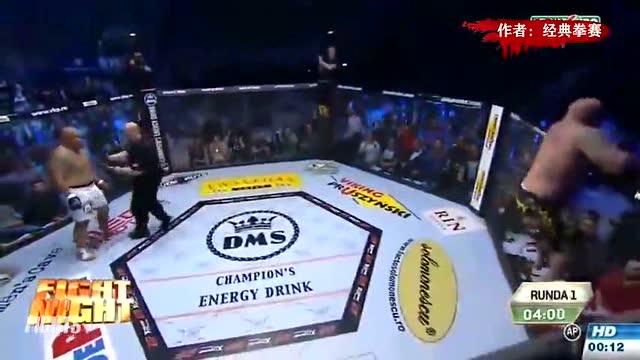 330斤真正的重量级拳王曾一拳KO萨普,胖子也是有实力的