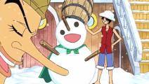 堆雪人还是乌索普厉害啊,这雪人没话说