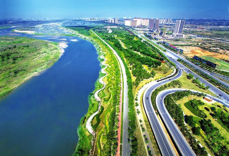 壁纸 成片种植 道路 风景 高速 高速公路 公路 植物 种植基地 桌面 80