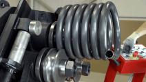 德国一款超牛弯曲数控机床,再硬的钢管也能给你折弯!