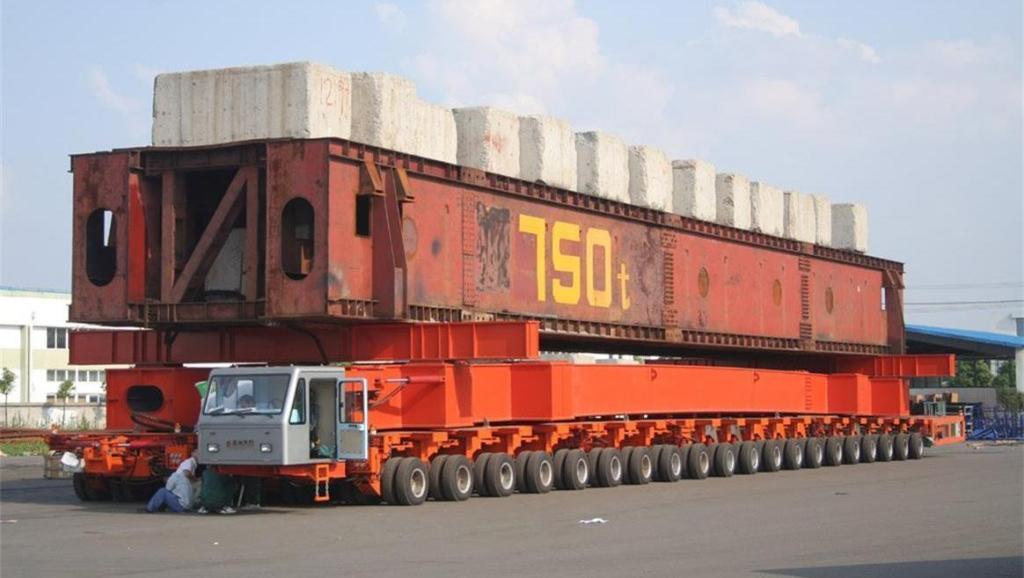 世界上轮胎最多的车,五万吨照样拉得动,就在中国!