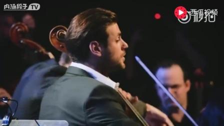 帅气的大提琴手演奏阿根廷探戈之父让人动容的名曲《Oblivion 》