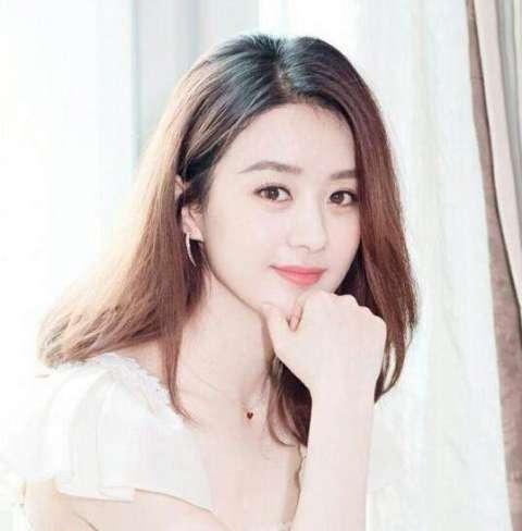 赵丽颖新短发发型图片展示图片