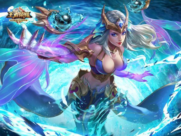 武则天的海洋之心皮肤加英雄绝对是土豪的最爱,特效超炫,拥有的都贵族