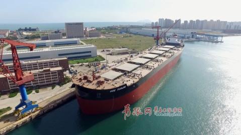 """合并后的""""新武船"""",一跃成为中国排名第七的船企,使中船重工把海西湾"""