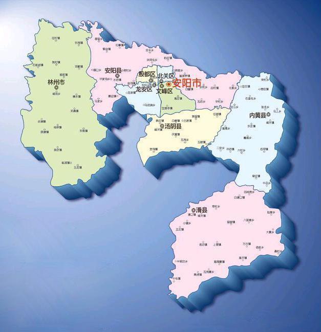 新乡市封丘地图