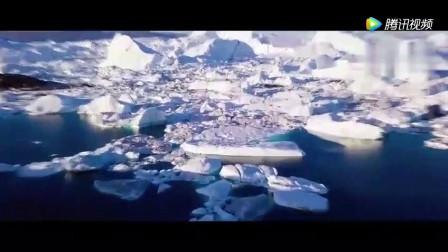 世界尽头与冷酷仙境格陵兰岛, 一片纯净的蓝色!