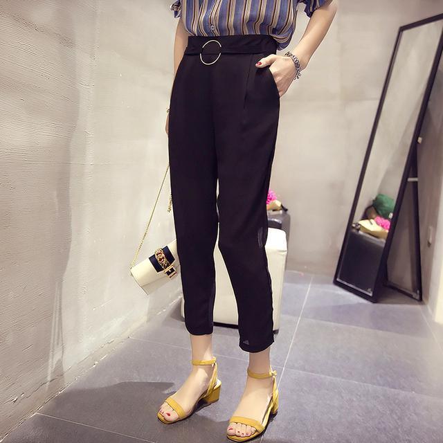 小腿粗半身裙_炎热夏日好身材秀出来, 简约休闲裤搭配尽显小腿的细小
