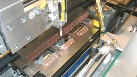 集成电路内部金丝焊线